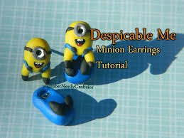 minion earrings tutorial question despicable me minion earrings polymer clay
