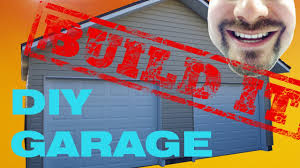Building A 2 Car Garage by One Man Two Car Garage Build It Youtube