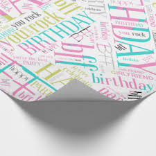 best wrapping paper bff wrapping paper zazzle