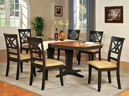 black leather fabric on rug ideas dining room table decor wooden