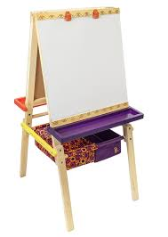 best easel for toddlers amazon com b toys easel does it wooden art easel with chalkboard