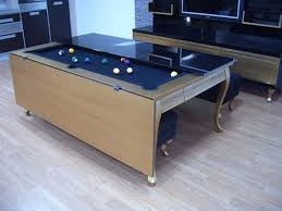Dining Room Pool Table Combo Best Indoor Dining Room Pool Table Combo Boundless Table Ideas