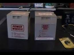 how to modify a 12 volt power wheels battery the correct way