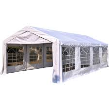 Outdoor Patio Canopy Gazebo by Outsunny 13 U0027x26 U0027 Heavy Duty Outdoor Carport Wedding Party Event