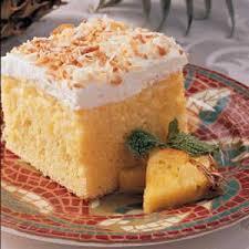 Coconut Cake Recipe Easy Pineapple Coconut Cake Recipe Taste Of Home