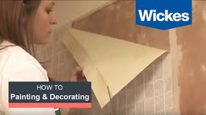 Wickes Laminate Floor How To Hang Wallpaper With Wickes Youtube
