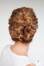 juda hairstyle steps easy everyday curly hairstyle tutorials the curly triple bun