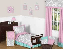 Sofia The First Toddler Bed Sweet Jojo Designs Pink Gray And Turquoise Skylar Toddler Bedding
