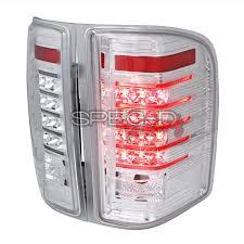 spec d tail lights spec d tuning smoked led tail lights lt siv07cled rs az motor trendz