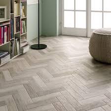 White Tile Effect Laminate Flooring Herringbone White House Pinterest Herringbone White Wood