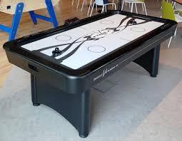 air hockey table over pool table v force air hockey table