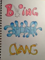 resume names that stand out exles of onomatopoeia in music 11 best onomatopoeia by waverly riley period 2 images on pinterest