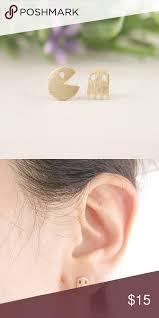 pacman earrings 3957 best different earrings for men images on men s