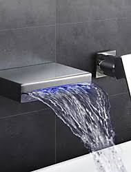 Led Bathroom Faucet by Led Waterfall Faucet Lightinthebox Com