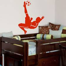 aliexpress com buy football soccer ball footballer vinyl wall aliexpress com buy football soccer ball footballer vinyl wall diy wall decal poster wall art children wall sticker kids room decor from reliable room