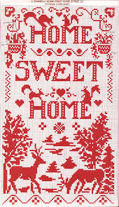 home patterns home sweet home cross stitch pattern free diy cross stitch