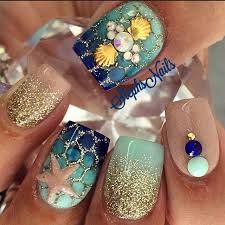 top 16 pretty seashell nail designs u2013 new simple style for spring