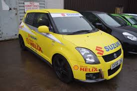 2007 56 reg yellow suzuki swift sport track race rally car no vat