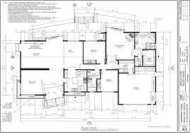 single storey bungalow floor plan 3 storey house floor plan dwg plans autocad architecture drawings