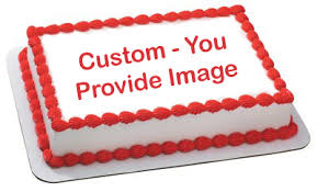 custom edible image cake topper you supply the image ep50002