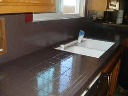 Porcelain Tile For Kitchen Countertops - painting kitchen countertops to update your kitchen the new way