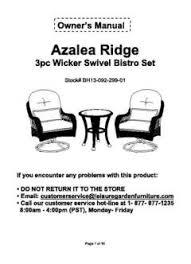 Better Homes And Gardens Azalea Ridge 4 Piece Patio Better Homes And Gardens Azalea Ridge 3 Piece Outdoor Bistro Set