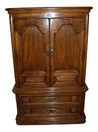 Mediterranean Furniture Style Thomasville Furniture Mediterranean Style Armoire Chairish