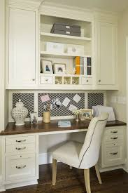 Two Desks In One Office Two Tone Wood Desks Design Ideas