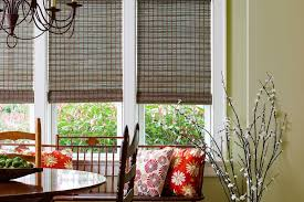 Bamboo Roller Shades Woven Wood Shades Custom Made Shades Blinds To Go