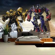 transformers bedroom boys kids photo wallpaper 3d transformers wallpaper optimus prime