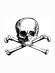 coloring pages skull skull and cross bones