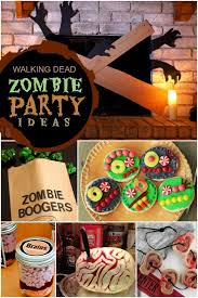 13 walking dead and zombie birthday parties spaceships and laser