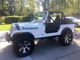 jeep renegade convertible friday night 1986 jeep cj 4x4 renegade convertible for sale the