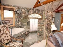 river rock bathroom ideas bathroom rustic master bathroom designs modern double sink
