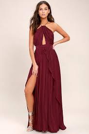 on my own burgundy maxi dress burgundy maxi dress overlays and