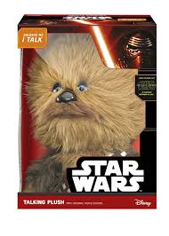 spirit halloween chewbacca star wars 15 inch deluxe chewbacca talking plush amazon co uk