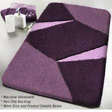 Contemporary Bathroom Rugs Purple Bath Rugs Chene Interiors