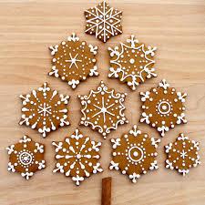 snowflake cookies cosmocookie iced gingerbread snowflake cookies and the u s