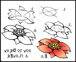 drawing flowers step by step how to draw hawaiian flowers step