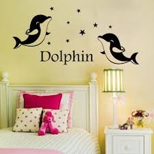 popular dolphin wall decals buy cheap lots dolphin wall decals