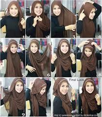 tutorial jilbab dua jilbab laziem 54 best tutorial hijab pashmina images on pinterest hijab