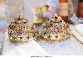 orthodox wedding crowns orthodox wedding crowns stock photos orthodox wedding crowns