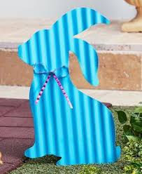 Easter Decorations Ebay by Easter Bunny Egg Painting Outdoor Wood Yard Art Lawn Decoration
