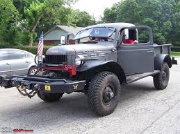 tactical jeep which make is this jeep edit its a dodge wc52 team bhp