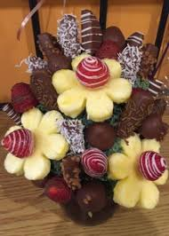 edible fruit arrangements temptation edible fruit bouquet in deer lake nl floral