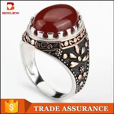 2015 fashion jewelry men s rings with big stones platinum rings
