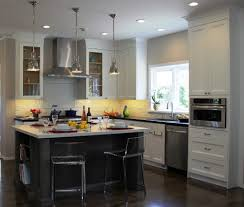stainless steel kitchen cabinets cost chrome pendant lamp golden