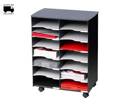 Rymans Filing Cabinet Filing Trolley 14 Compartment Filing Cabinets Storage