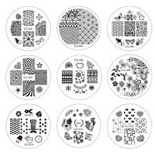 online buy wholesale flower bow nail art stamping plates from