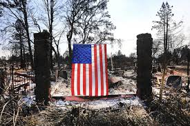 Flags Half Staff Today California Just Ash And Bone U0027 Death Toll In California Wildfires Reaches